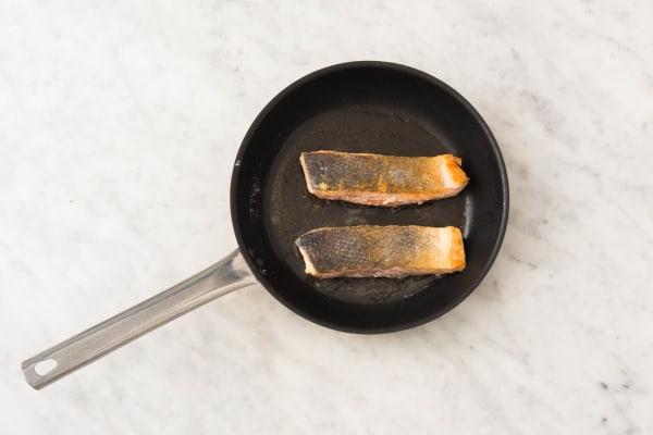cuire le saumon