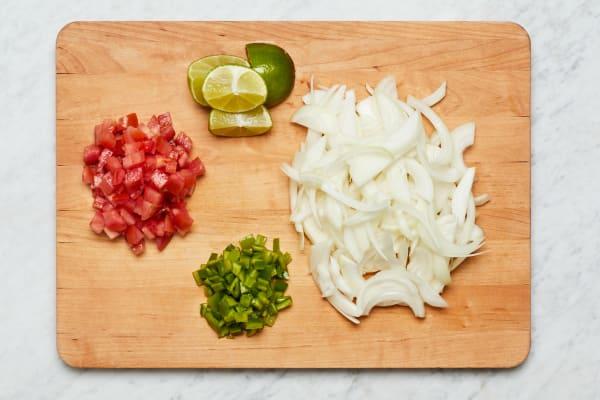 Make Rice and Prep