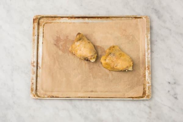 Rôtir le poulet