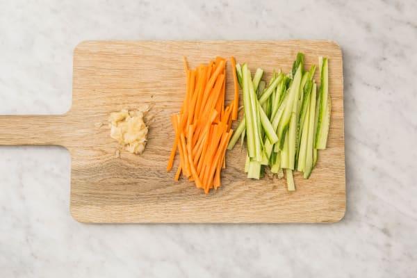 Gemüse Vorbereiten