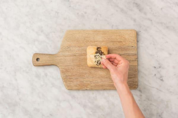 Baguette bakken