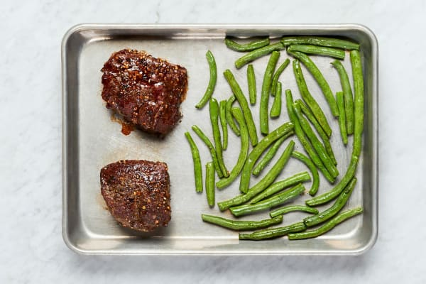 Roast Beef and Green Beans