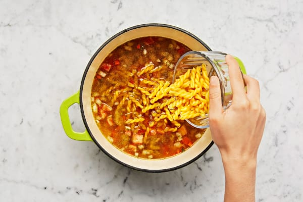 Simmer Sauce and Pasta