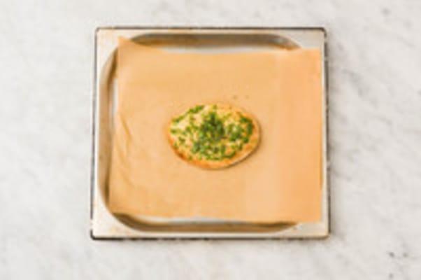 Naanbrood bakken