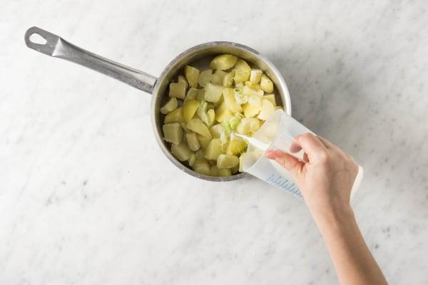 Kartoffelpürree zubereiten