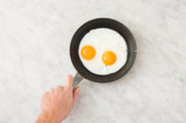 Eieren bakken