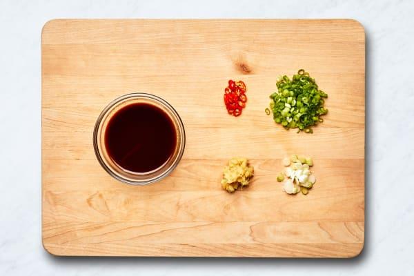 Prep and Make Sauce