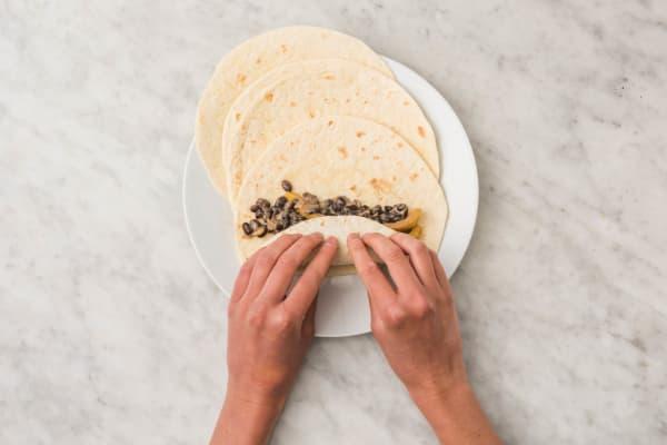 Enchiladas rollen