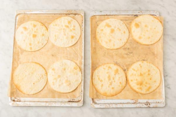 Värm upp tortilla