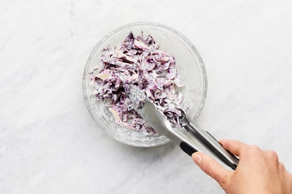 Make Cabbage Slaw