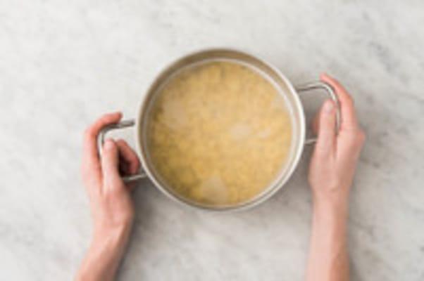 Orecchiette koken