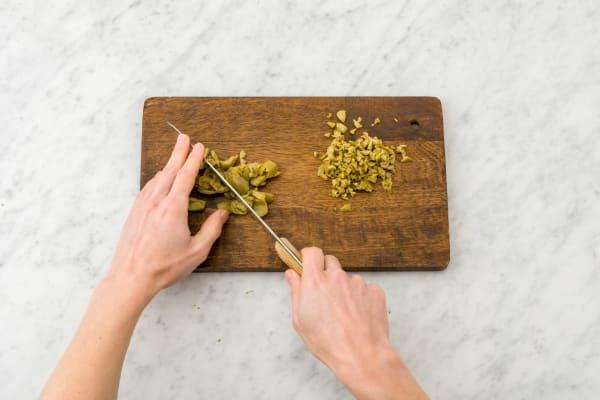 Prep the Olives
