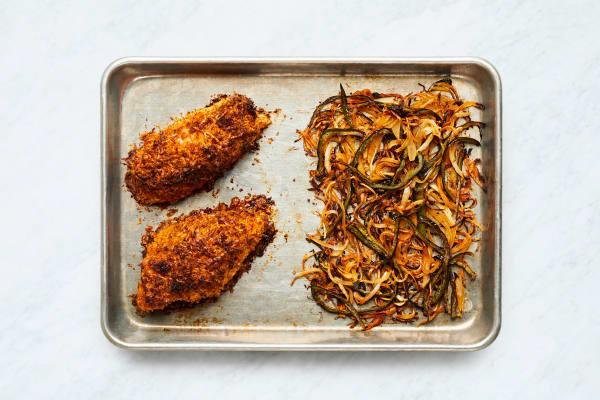 Finish Chicken and Veggies