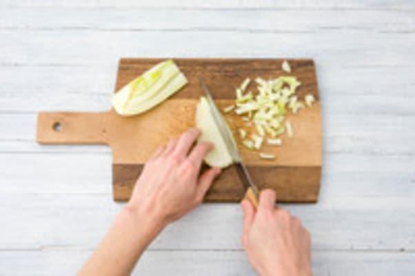 Peper en venkel snijden