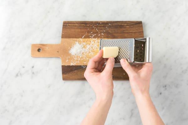 Riv parmesan