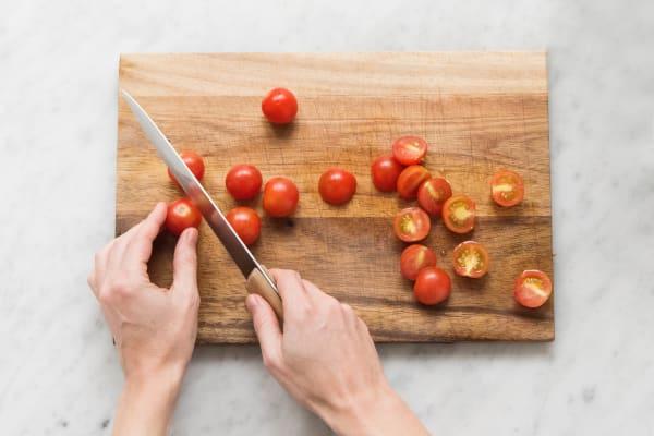 Dela tomater