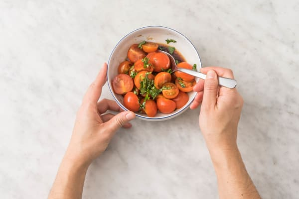 Marinera tomater