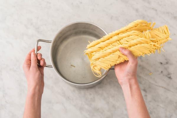 Pasta kochen
