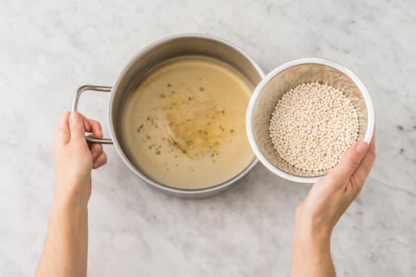 Perlencouscous kochen