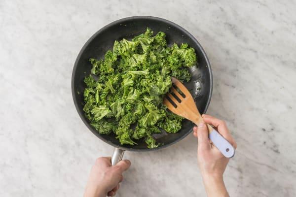 Stek grönkål