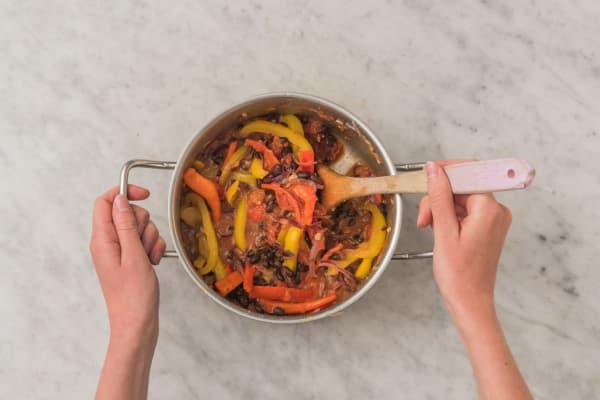 Chili kochen und verfeinern