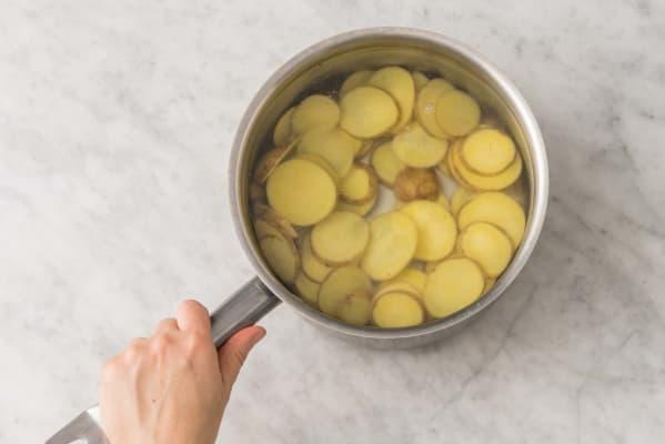 Simmer the Potato