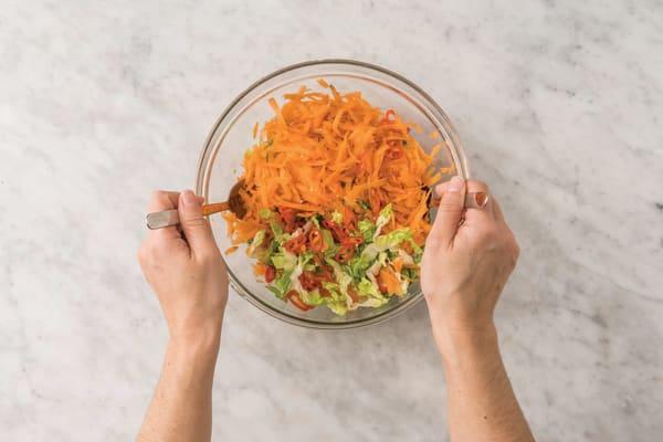 Make the salad