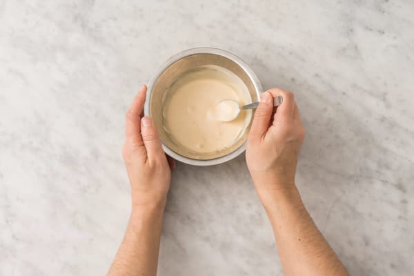 Make the soy mayo