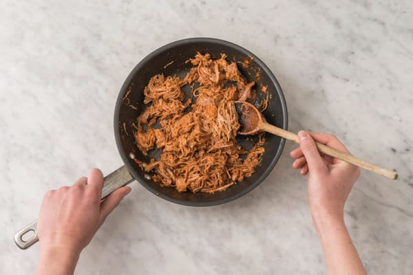 Make the Mexican pulled pork