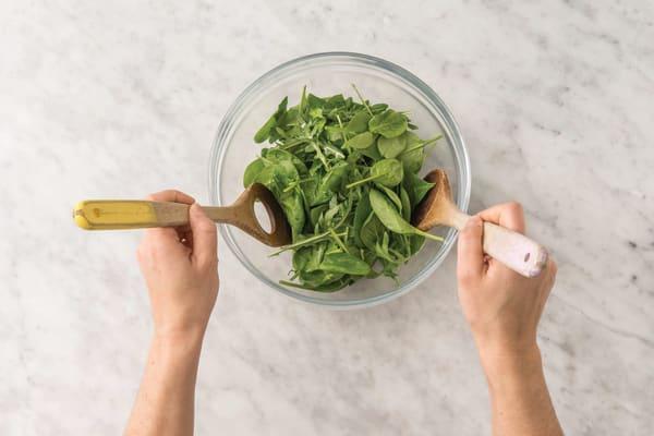 Make the salad I