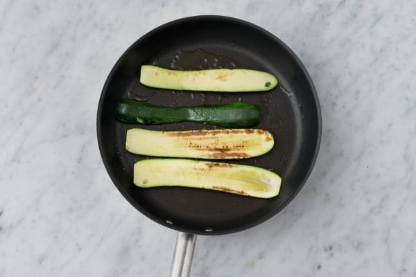 Fry your courgette