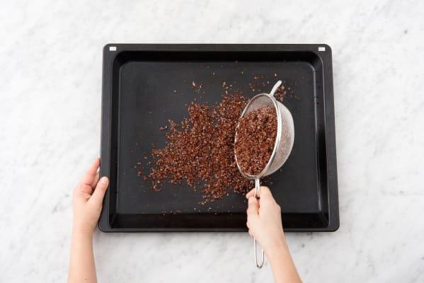 Cool the quinoa