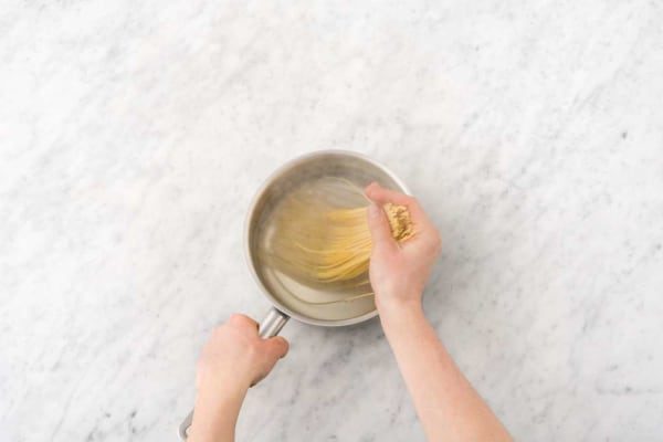 Prep and cook pasta