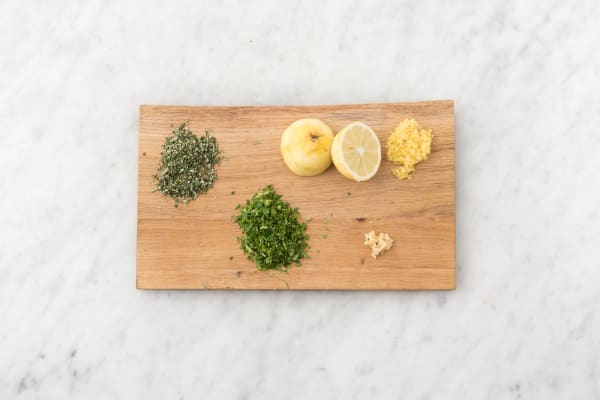 Prep and Boil Potatoes