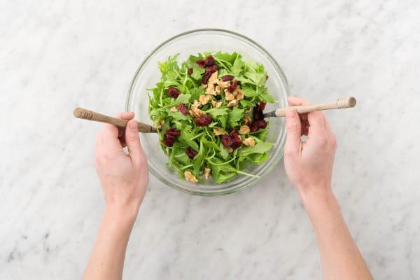 Make Salad and Serve