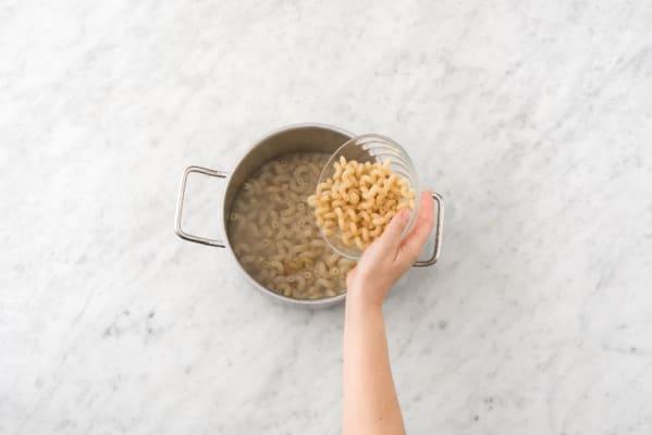 Boil Pasta and Broccoli