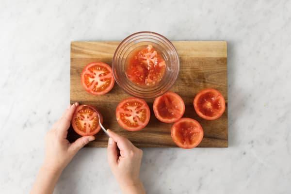 Tomaten entkernen