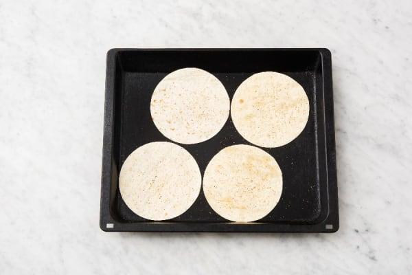 Bake Tortillas