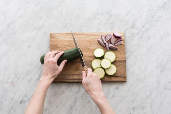 Gemüse marinieren