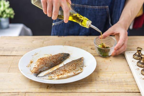Marinate the fish