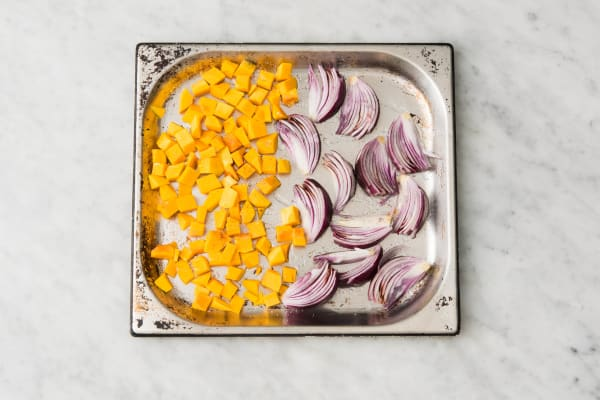 Roast Onion and Squash
