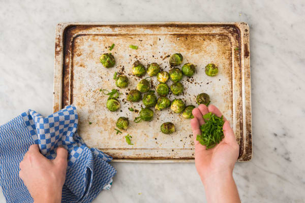 3 ROAST BRUSSELS SPROUTS