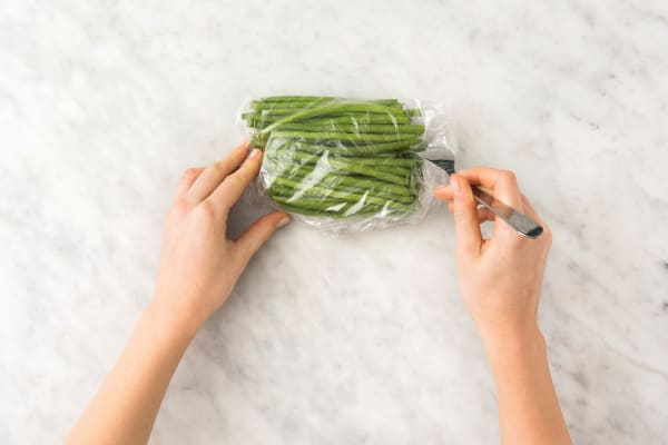 Warm Green Beans
