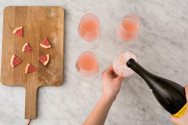 Juice Fruit and Serve