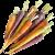Mixed Chantenay Carrots