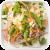 Salademix met sojabonen