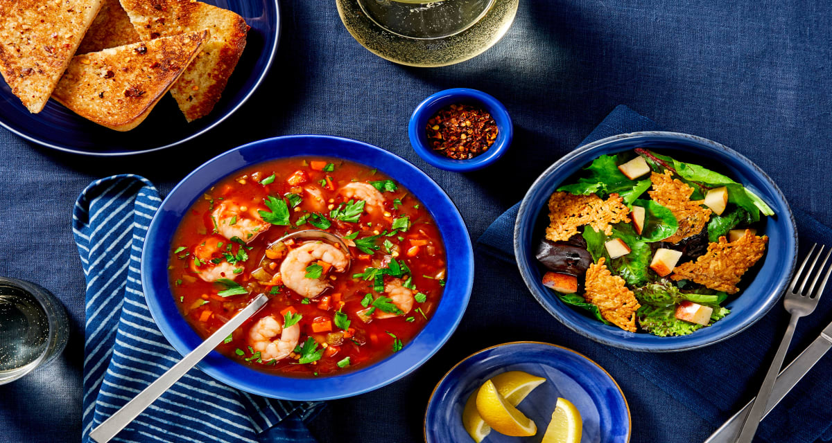 Fisherman S Shrimp Cioppino Recipe Hellofresh