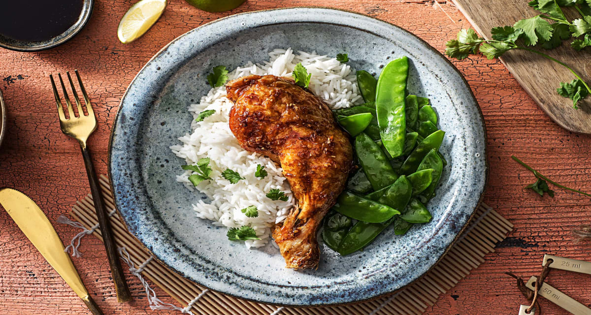 Thai Lemongrass Chicken Legs Recipe Hellofresh