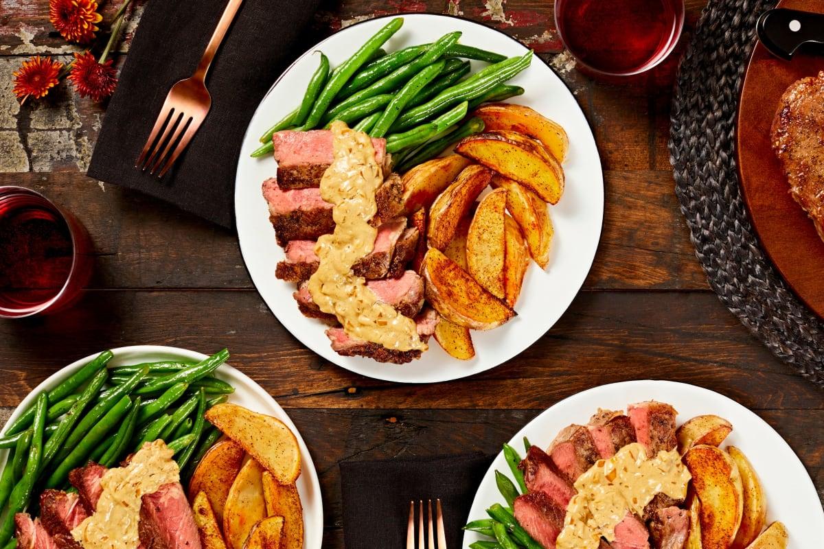 Truffle Rib-Eye Steaks
