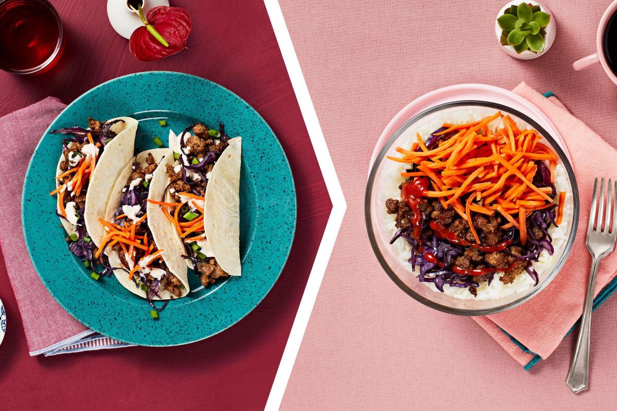 Bulgogi Tacos for Dinner